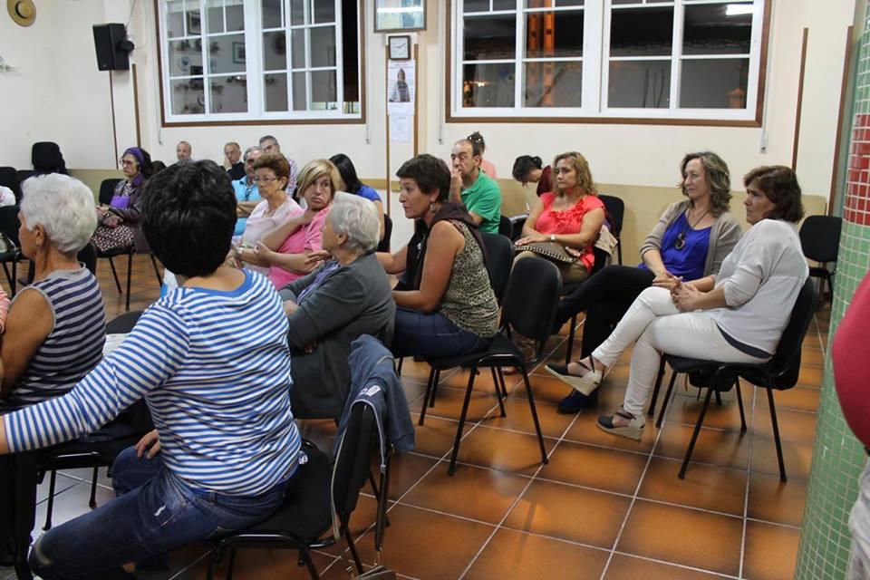 Acto De conversa coas traballadoras da Pontesa