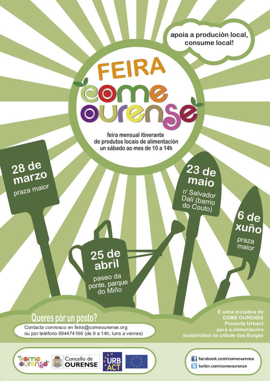 Cartel da Feira Come Ourense